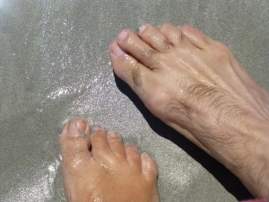 Electrolysis permanently removes unwanted toe hair